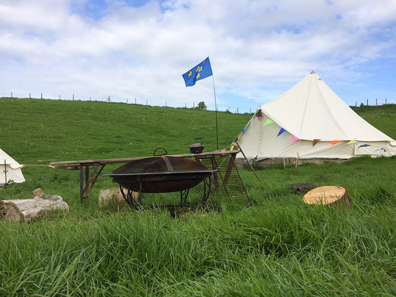wombells campsite brighton